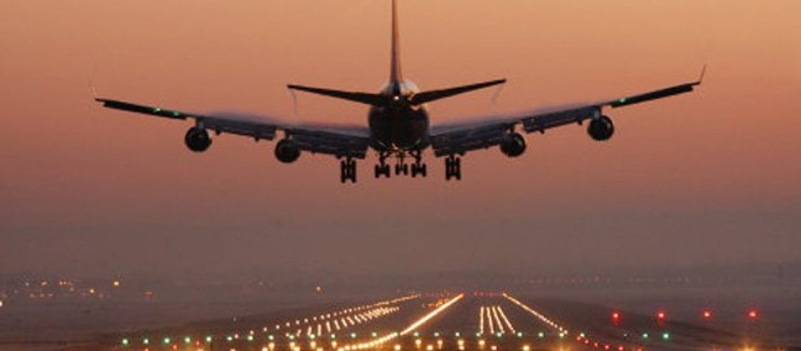 File photo dated 02/01/08 of a plane coming in to land at Gatwick Airport, as the airport celebrates its 80th anniversary of its first flight.